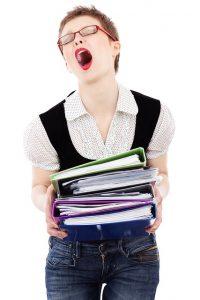 Exam stress and focus