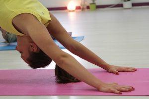 Individual yoga teaching