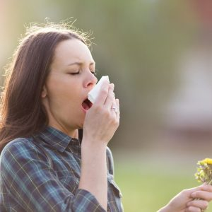 Hay-fever symptoms